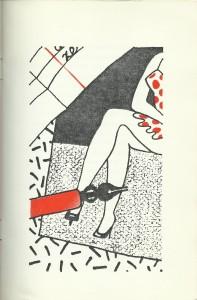 Het Groot Kerstverhaal, Willem Vreeswijk, tekening 3, Huub Laur